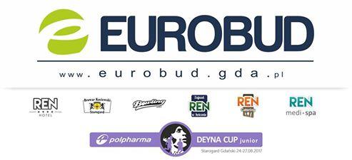 EUROBUD włącza się w organizacje turnieju Polpharma Deyna Cup Junior 2017