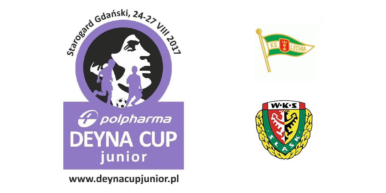 LECHIA GDAŃSK oraz ŚLĄSK WROCŁAW na POLPHARMA DEYNA CUP JUNIOR 2017!!