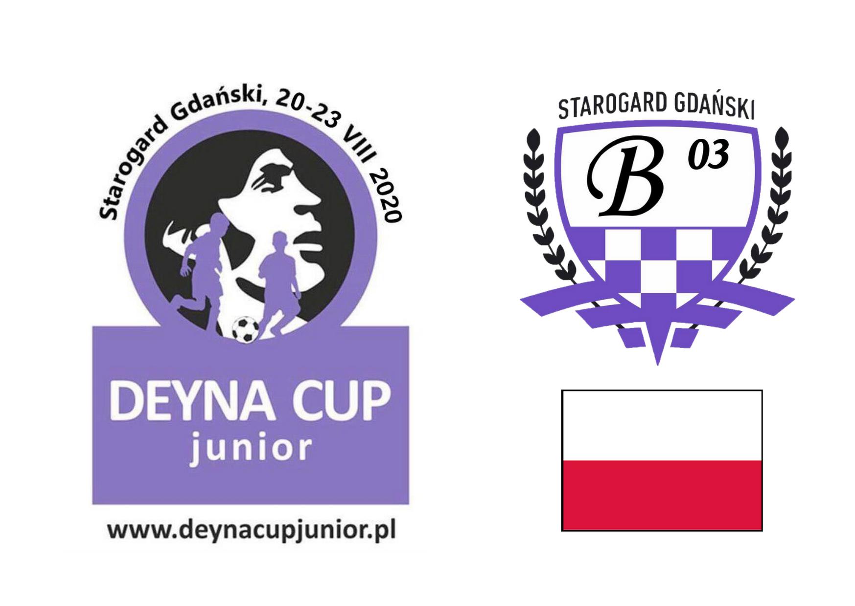 Rozpiska meczów na niedzielę 23.08 dla rocznika 2010 – Deyna Cup Junior 2020