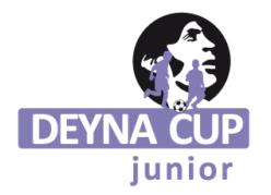 DEYNA CUP JUNIOR – WYNIKI MECZÓW Z SOBOTY 22.08.2020